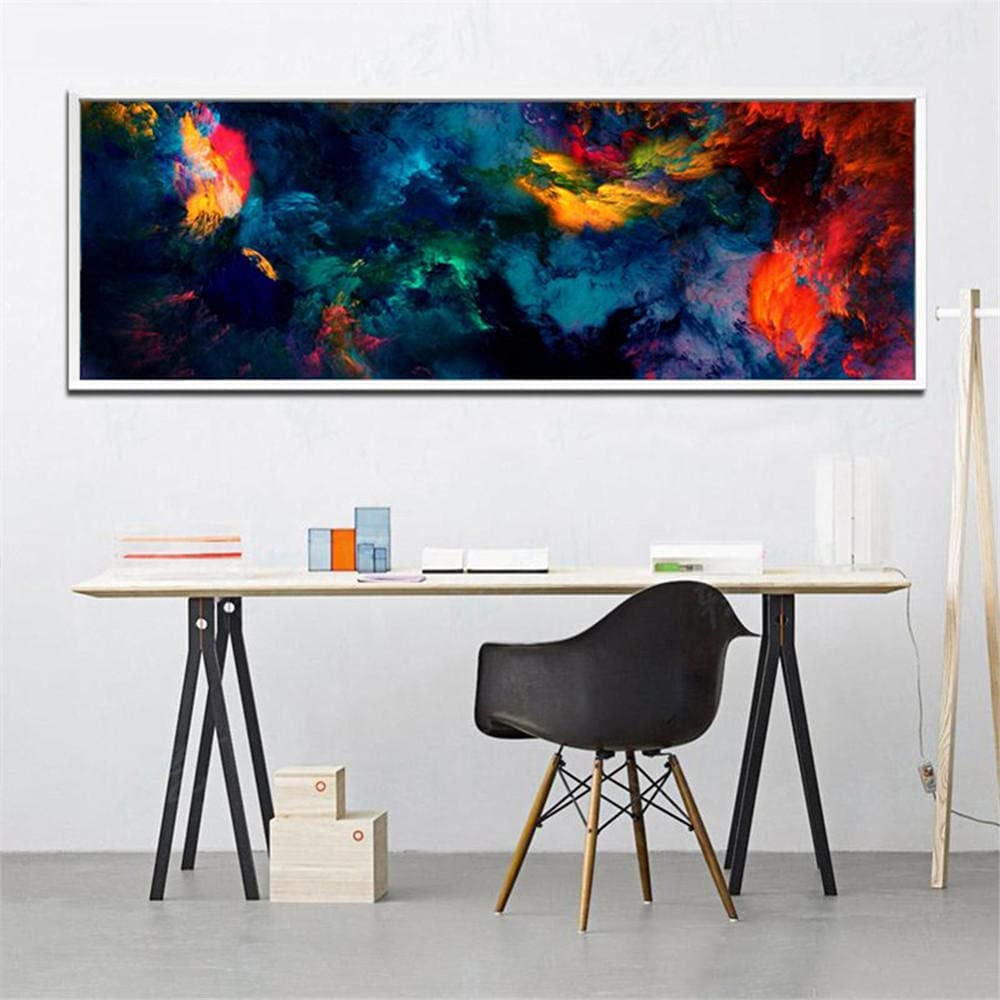 DIY 5D Luxury goods Diamond Painting by Number Cloud Dia Color Abstract Rapid rise Kits
