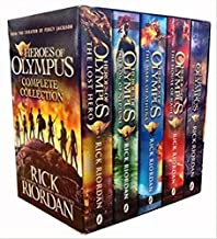 Heroes of Olympus Complete Collection 5 Books Box Set -The Lost Hero/The Son of Neptune/The Mark of Athena/The Blood of Ol...