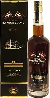 A.H. RIISE Danish Navy STRENGTH Rum 55% 0,7 Liter