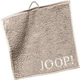 Joop! Handtücher Classic Doubleface 1600 Sand - 30 Seiflappen 30x30 cm