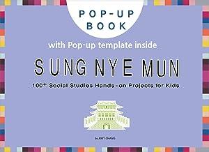 Sungnyemun: DIY pop-up card making craft books for kids, Korean culture and travel, Korea traditional building (English Ed...