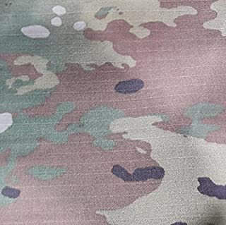 Multicam OCP Camouflage Nylon Cotton Ripstop Lightweight Fabric 65 Inch 2.6 Yards