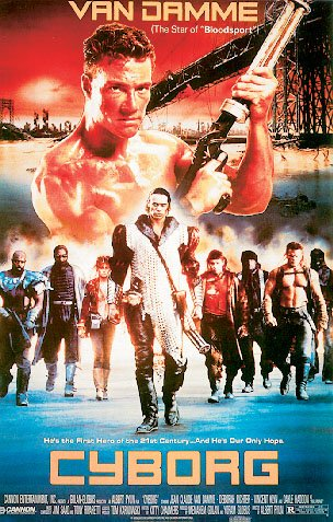 POSTER STOP ONLINE Cyborg - Movie Poster (Jean Claude Van Damme) (Size: 27' x 40')