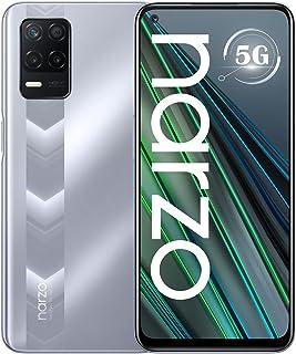 "Realme Narzo 30 5G (4GB+128GB) Dual SIM/グローバル版 SIMフリー / 5G / 6.5"" / 90Hz / 5000mAh / Fast charging 18W (Racing Silver/シルバー)"