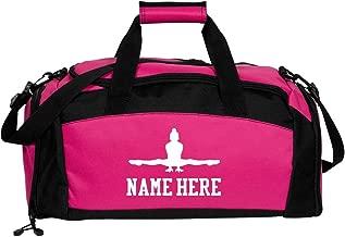 gymnastics bag personalised