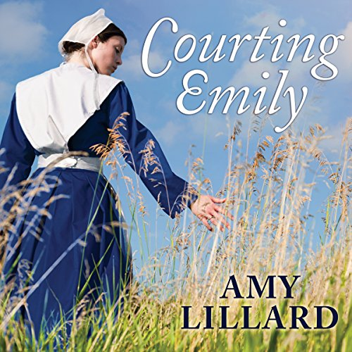 Courting Emily audiobook cover art