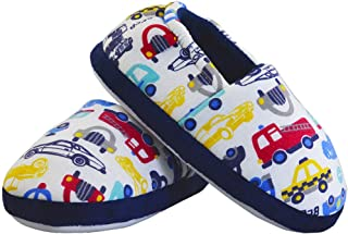 Image of Slip On Trucks and Cars Slippers for Boys and Toddlers
