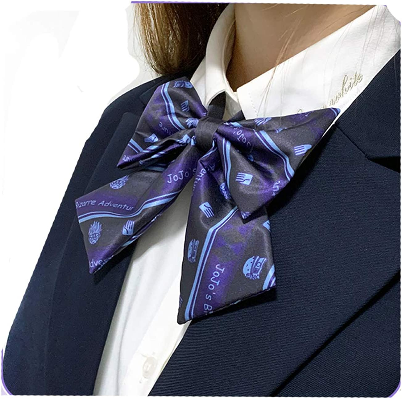 JoJos Bizarre Adventure Kujo Jotaro Kira Yoshikage tie bowknot bow tie Fanart cosplay props