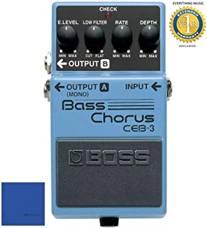 Boss CEB-3 Bass Chorus Pedal with 1 Year Free Extended Warranty