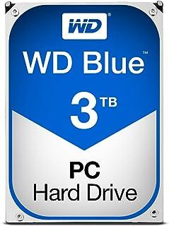 WD Blue WD30EZRZ - Disco duro interno 3.5 pulgadas, SATA 3, 64 MB, 5400RPM, 3000GB (3TB)