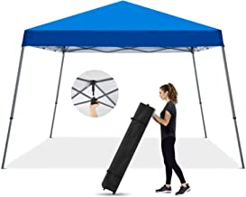 MASTERCANOPY Pop Up Canopy Tent,Outdoor Portable Canopy,Beach Canopy with Wheel Bag(10x10,Blue)