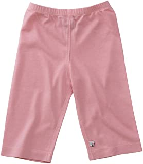Babysoy Baby Girls' Slip-On-Pant - Petal - 3-6 Months