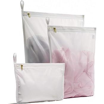 Black White Set Of 4 Mudder Delicates Laundry Wash Bags New UK SELLER