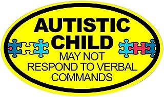 CafePress Autismus Kind Auto Aufkleber, oval, Autoaufkleber