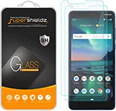 (2 Pack) Supershieldz for Nokia (3.1 Plus) (US Cricket Wireless Version) Tempered Glass Screen Protector, Anti Scratch, Bubble Free