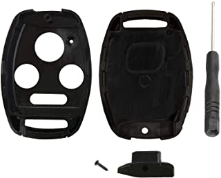 3+1 Buttons RUNZUIE Silicone Keyless Entry Remote Key Fob Cover Case Protector Shell for Honda Accord Civic CR-V Element Pilot 850G-G8D380HA N5F-A05TAA