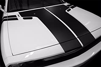 dodge challenger hood decals