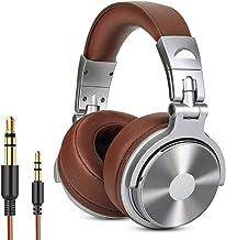 Headphone Heavy Bass Stereo Earphones Earbuds Wired 3.5mm Anc Headphones, Surround Sound Adjustable Hifi Headphones over E...