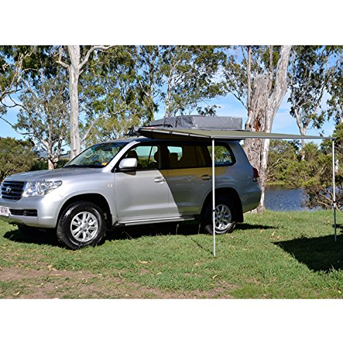 Dobinsons 4x4 Roll Out Awning 8FT x 9.8FT Large Size, Includes Brackets and Hardware
