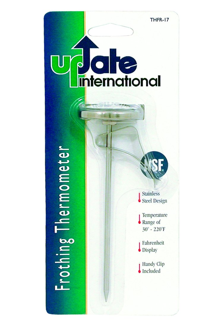 Update International THFR-17L Dial Thermometer Frothing Sales of SALE Outstanding items from new works Chi with