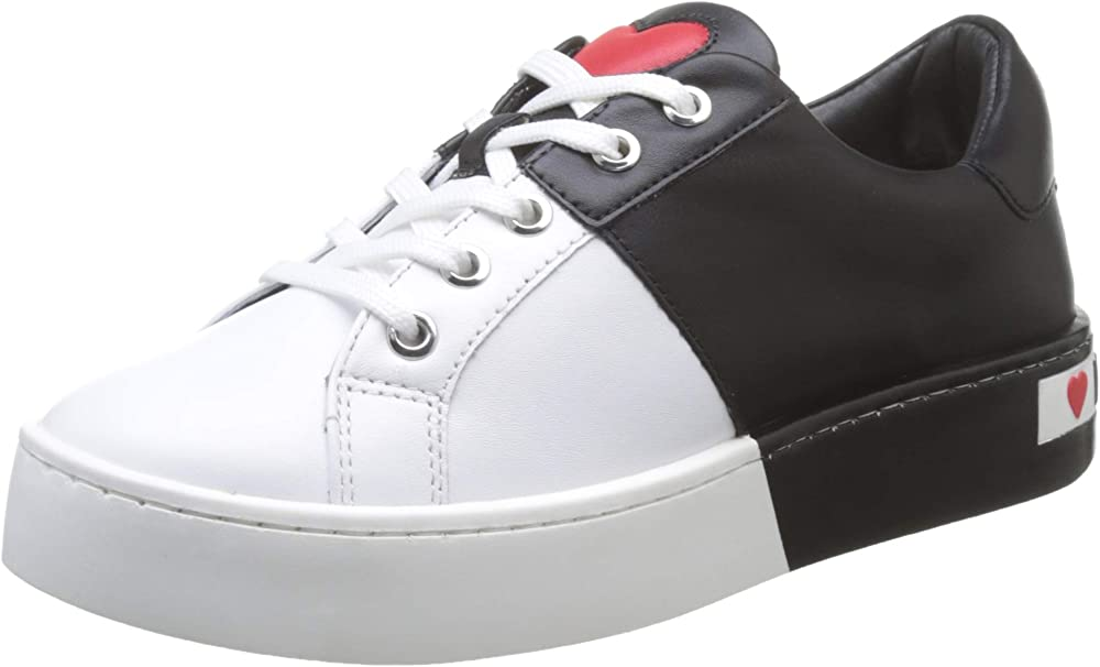 Love moschino sneakers donna in pelle JA15013G1A