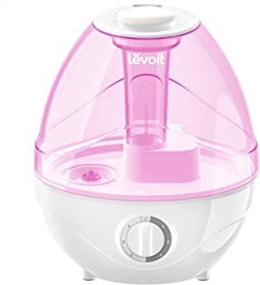 LEVOIT Humidifiers for Bedroom, Ultrasonic Cool Mist Air Vaporizer for Babies (BPA Free), Easy to Clean, Night Light, Last...
