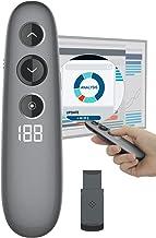 Presentation Remote, Doosl Digital Highlighting Wireless Presenter Clicker Magnify Pointer Digital Pointer Mouse with LCD ...
