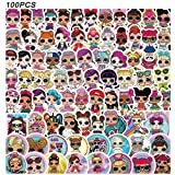 LO_L Stickers - CNCK 100pcs Waterproof Hydroflask Stickers Vinyl Cartoon Stickers for Adults Teens Girls for Laptop Luggage Car Skateboard Motorcycle Bicycle Decal Stickers