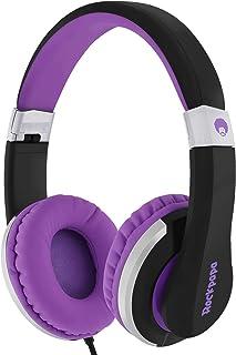 RockPapa I20 On Ear Headphones Foldable with Microphone, Earphones Adjustable for Kids Childrens Adults, iPhone iPad iPod,...