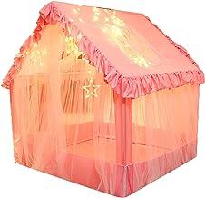 YJYQ Lektält för barn inomhus utomhus småbarn leksaker barn lekhus slott tipi tält pop up tält för barn pojkar flickor små...