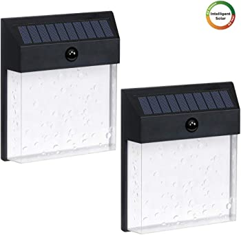 2-Pack Westinghouse Intelligent Solar Motion Sensor Lights