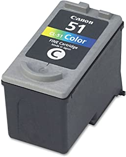 Canon CL51 Ink Cartridge, Tri-Color, in Retail Packaging