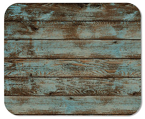 Rustic Old Barn Wood Rubber Mousepad Gaming Mouse Pad