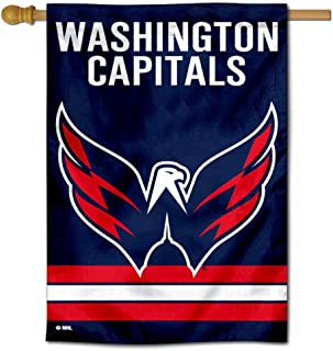 WinCraft Washington Capitals Two Sided House Flag