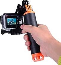 Suptig Trigger Waterproof Pistol Shutter Trigger Kit Floating Hand Grip for GoPro Hero8 Hero 7 Hero 6 Black Gopro Hero 5 Hero 4 Hero 3+ Hero 3 Hero+LCD Yi Action Yi 4k Yi 4K+ Action SJCAM Cameras