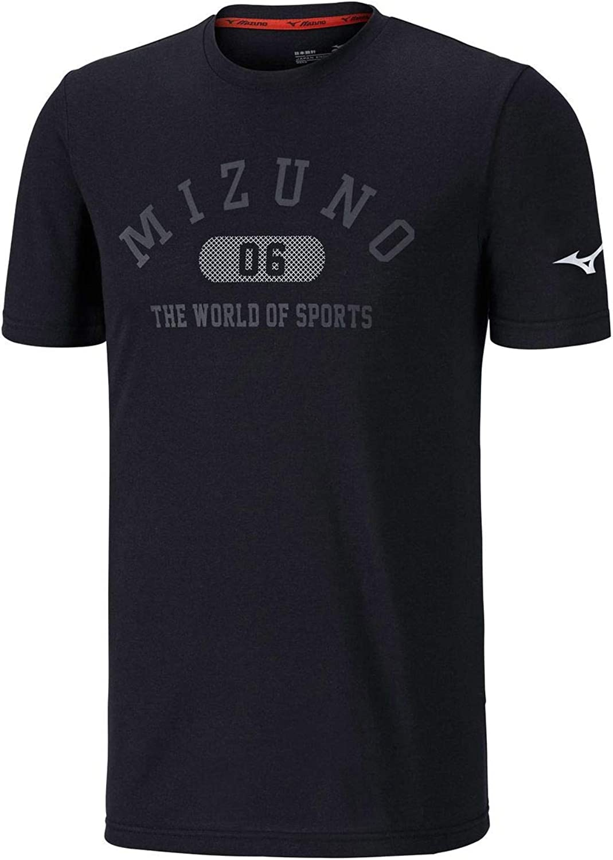 Mizuno Heritage 1906 Laufen T-Shirt - AW18 B07GJ7GVMQ  Britisches Temperament