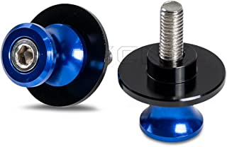 10MM ATOM Black CNC Swingarm Spools For Kawasaki Vulcan 650 S 17 18 19 1000 2003-2009 ZX-10R 04-07 Ninja 250R 08-12 Ninja 300R 13-16 17 18