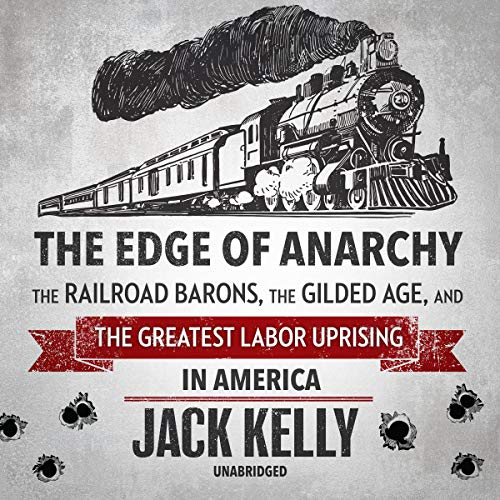 The Edge of Anarchy audiobook cover art