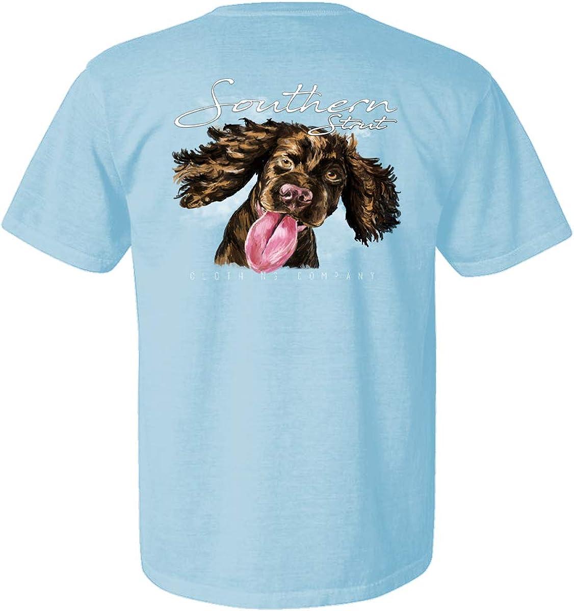 Youth Boykin Spaniel Rolling Stone Hunting Dog Short Sleeve T Shirt