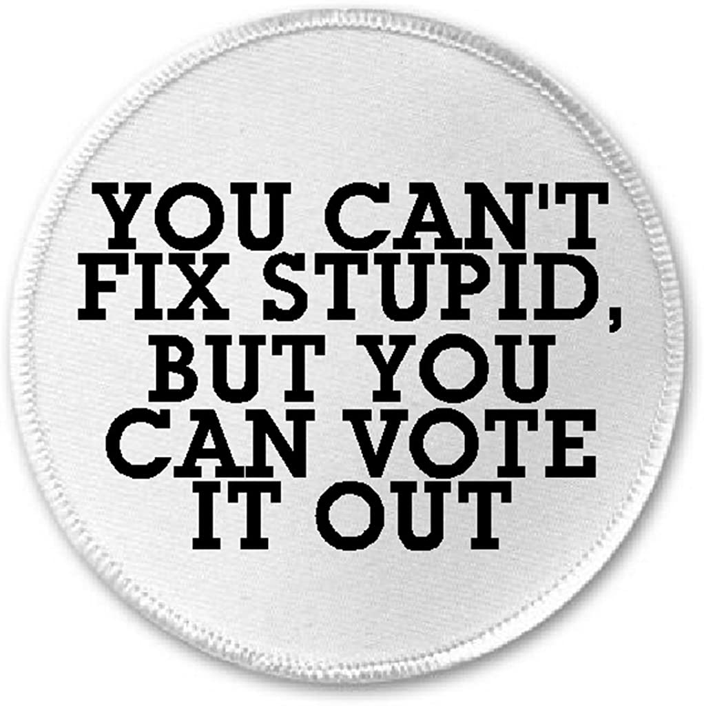 You Can't Fix Stupid But You Can Vote It Out - 3