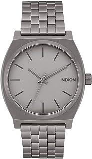ساعة نيكسون تايم تيلر A045.100 متر مقاومة للماء (وجه ساعة 37 ملم من الستانلس ستيل)