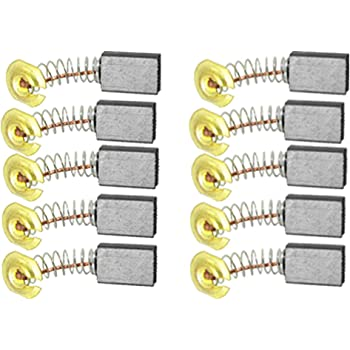 Uxcell Replacement Motor Carbon Brushes 5//8 x 7//16 x 3//16 inch,10 Pairs