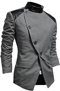 SportsX Mens Slim Casual Merino Two-Button Sport Coat
