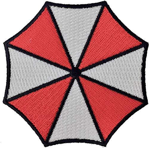 Super6props Resident Evil Umbrella Corporation Logo Aufbügeln (75 mm)