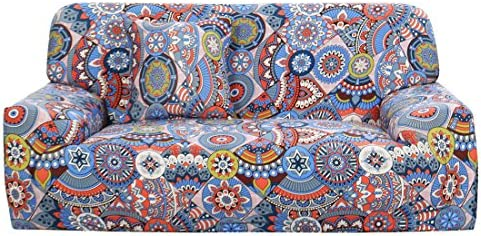 Best uxcell Stretch Sofa Couch Cover 4 Seater Polyester Spandex Fabric 1-Piece Sofa Slipcover for Chair L