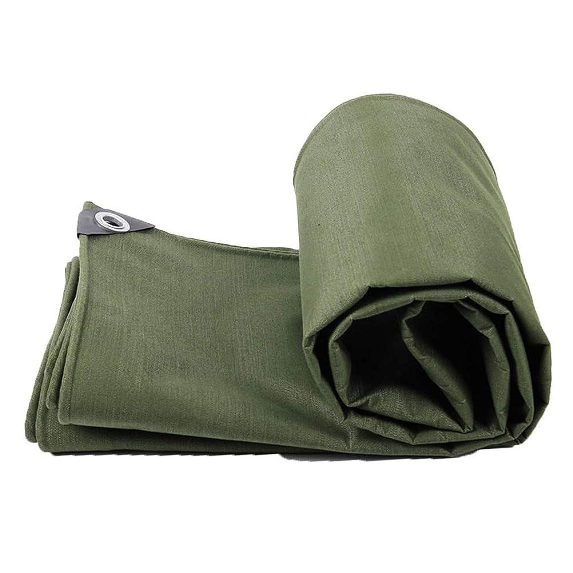 多数の参加するシンプトンLCAIHUA 防水シート耐摩耗性防錆ボタンホール暗号化された布トラックアウトドア、15サイズ (Color : Green, Size : 4X6m)