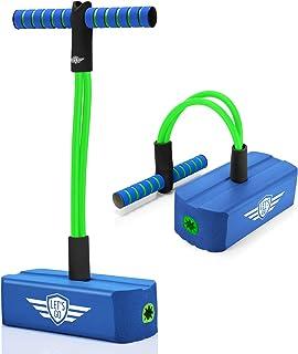 LetsGO toyz Pogo Stick pour Enfants, Garcon Fille Jeux Plein Air Jouet & Cadeau - Poids de 100kg Max