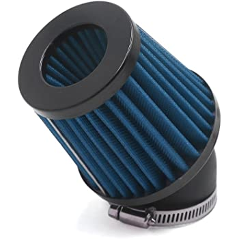 45-48mm Red Right Angle Air Cleaner Intake Filter Street Bike Dirt Bike ATV