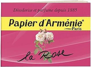 Papier d'Arménie La Rose - Carnet de 36 lamelles