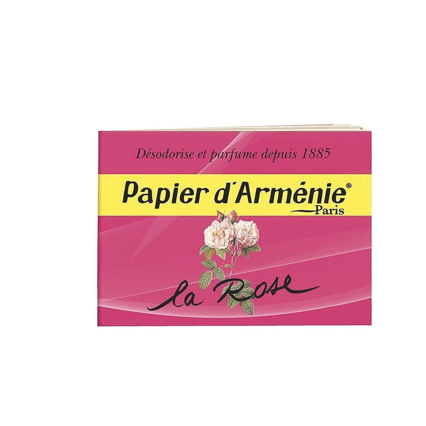 落ち着かない特異性とんでもないPAPIER D'ARMENIE La Rose (1 carnet)